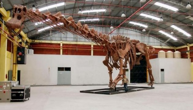 В Аргентине нашли самого большого в мире динозавра