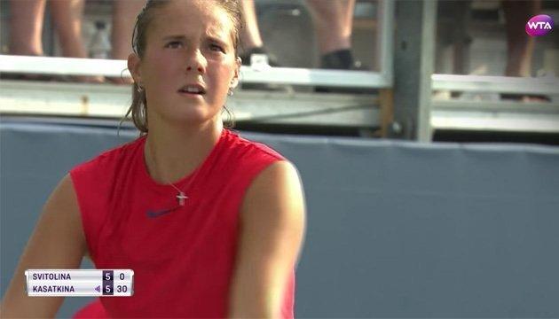 Tenis: Mejores momentos del partido Elina Svitolina - Daria Kasatkina