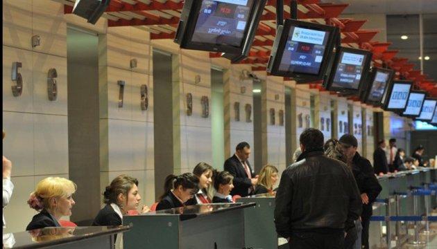 Робота Тбіліського аеропорту паралізована через комп'ютерний збій