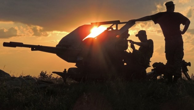 Ukrainian army sustained no losses in ATO in last day