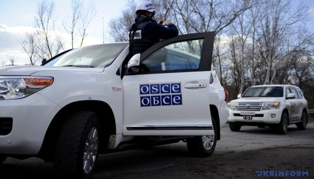 OSCE records 414 blasts in Donbas