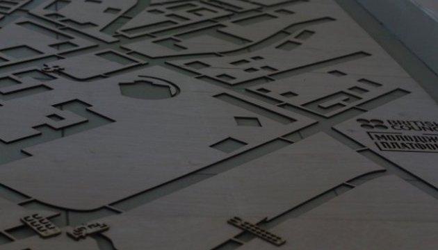 Туристів до Луцька приваблюватимуть тіньовою мапою