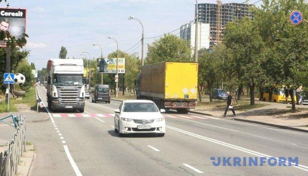 Въезд грузовиков в Киев снова ограничили из-за жары