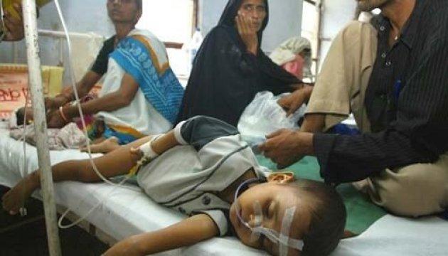 В Індії спалах енцефаліту: за два дні померли 30 дітей
