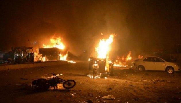 Не менше 15 людей загинули внаслідок вибуху в Пакистані