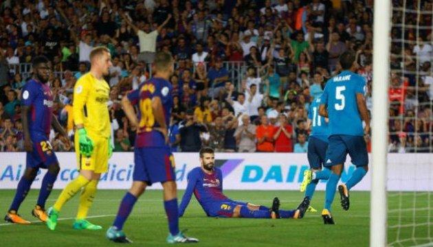 Суперкубок Іспанії: «Реал» обіграв на виїзді «Барселону» 3:1