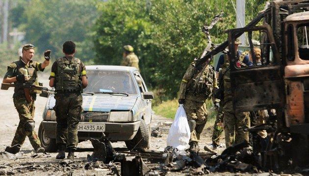 АТО: бойовики 10 разів порушили