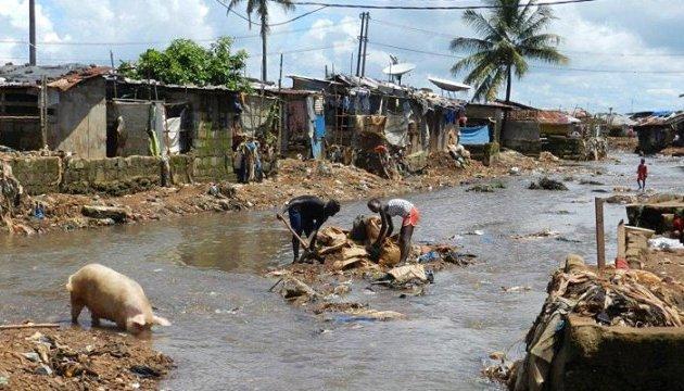 Від повеней і зсувів у Сьєрра-Леоне загинуло більше тисячі осіб