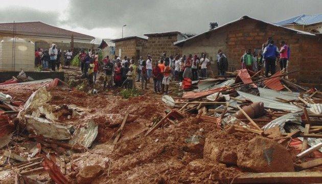Зсув грунту у столиці Сьєрра-Леоне вбив сотні людей
