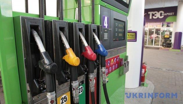 Бензин А-95 на Киевщине продают по 27,79-31,99 гривни