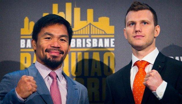 Бій-реванш Пакьяо – Хорн відбудеться в Австралії