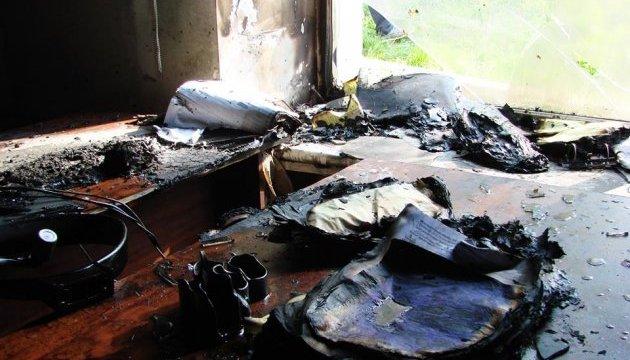 За спалення офісу Київблагоустрою зловмисники можуть отримати до 10 років