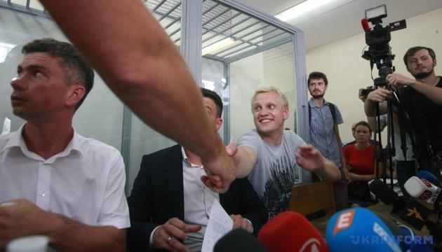 "Суд отказался сажать Шабунина под домашний арест за избиение ""журналиста"""