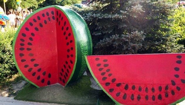 乌克兰最大的西瓜、甜瓜和南瓜评选
