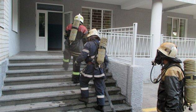 У Кременчуці горіла дитяча лікарня