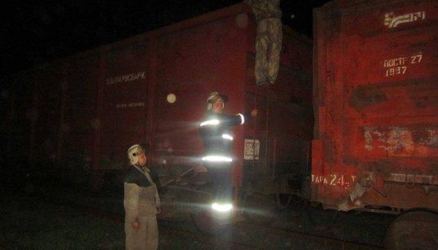 На Київщині у двох потягах під час руху загорілися вагони, є загиблий