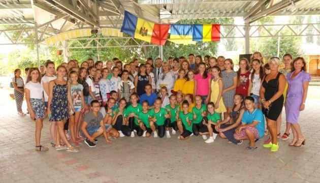 150 дітей з України відпочивають в молдовському літньому таборі