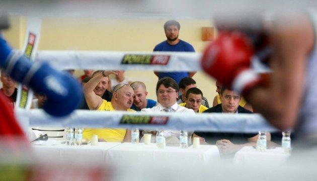 Жданов відвідав відкрите тренування українських боксерів перед чемпіонатом світу