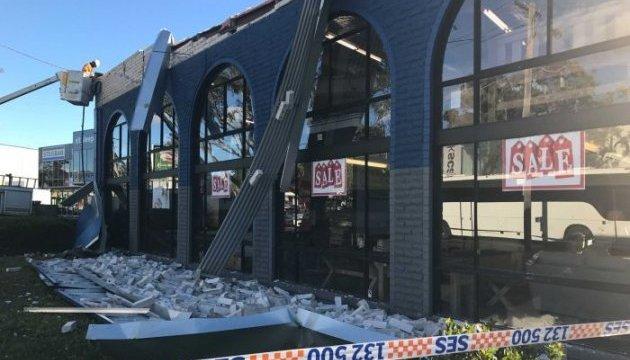 В Австралії потужний ураган накрив Сідней, є загиблий