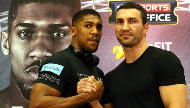 Joshua will sich wieder mit Klitschko ohne Boxhandschuhe treffen