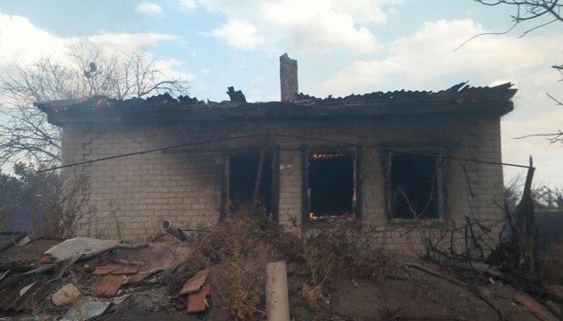 Бойовики обстріляли житловий сектор Зайцевого