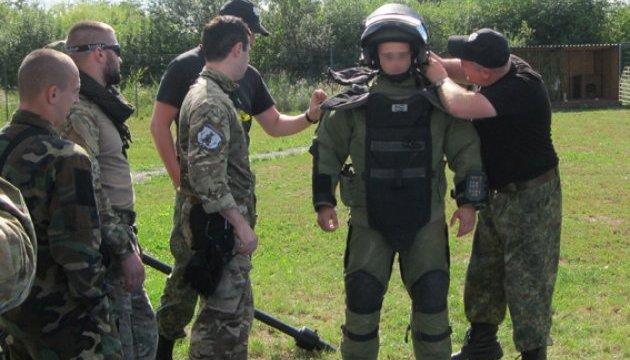 Українські вибухотехніки провели спільні навчання за участі агентів ФБР