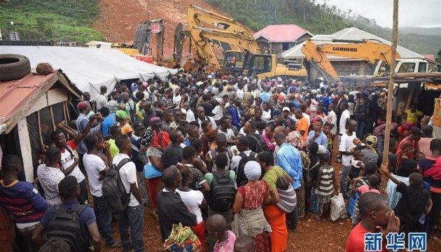 У Сьєрра-Леоне загинули майже 500 осіб через повінь