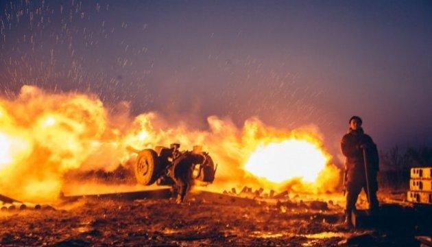 Les combattants pro-russes ont utilisé des obusiers dans le secteur de Donetsk