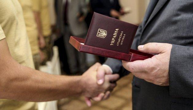 Порошенко у Кропивницькому госпіталі нагородив спецпризначенців