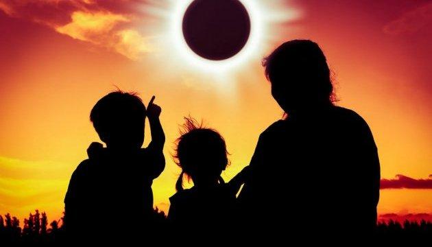 Повне сонячне затемнення за останні 99 років