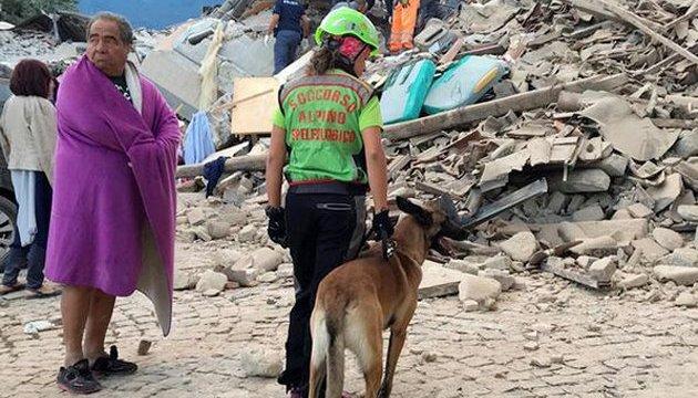 Землетрус в Італії: 39 постраждалих, у тому числі 7-місячне немовля