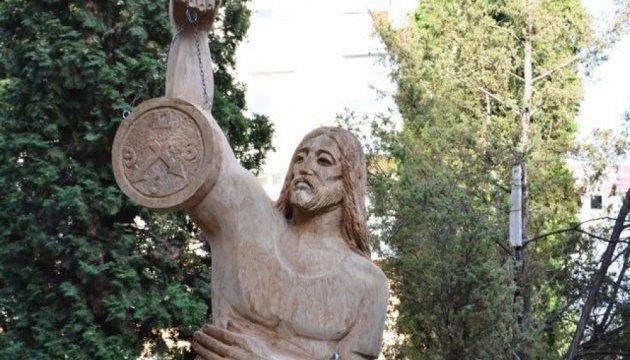 В Каменце-Подольском появился сад скульптур