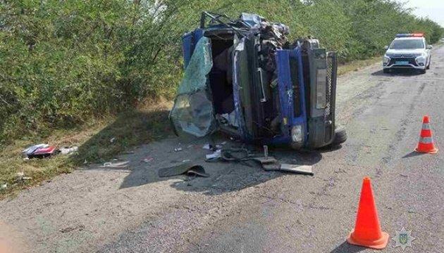 На Запоріжжі в результаті ДТП загинув поліцейський