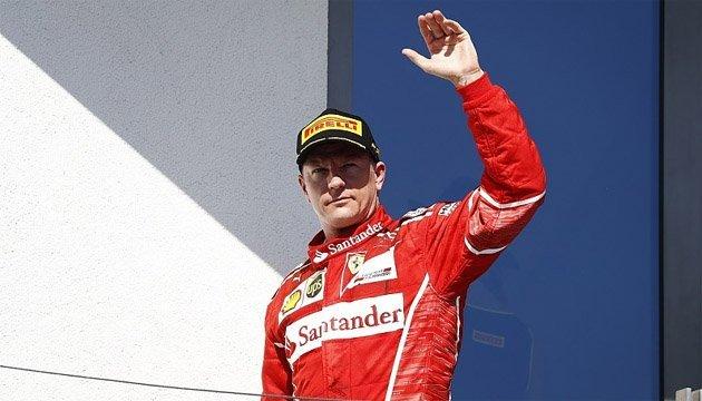 Формула-1: Райкконен подовжив контракт з Ferrari