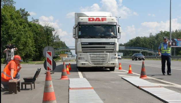 На Кольцевой заработал комплекс взвешивания грузовиков