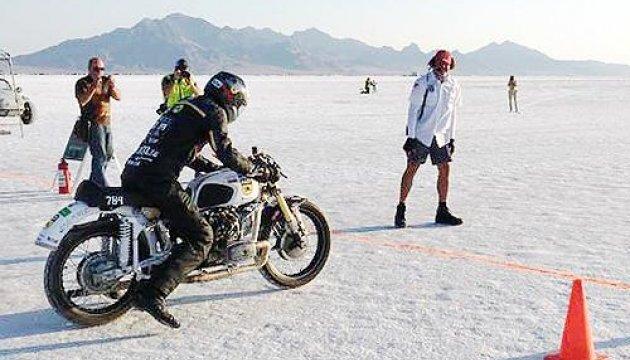 Мотогонщик Сергій Малик: Пишаюся, що рекорд Бонневілля встановив на українському мотоциклі