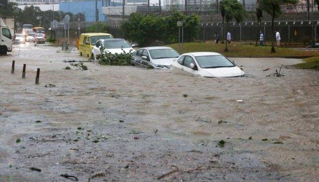У Макао вирує тайфун