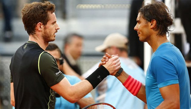 Теніс: Надаль і Маррей є у списках учасників турніру АТР в Китаї