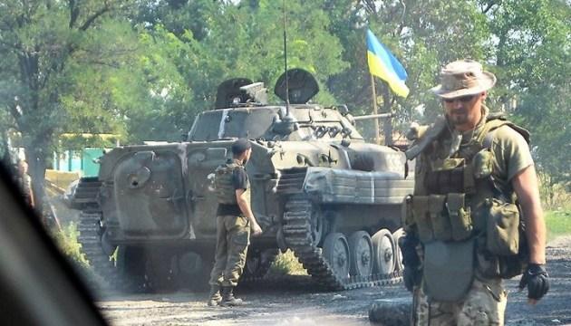 Donbass: Aggressor beschießt Troizke mit 152-mm Artillerie