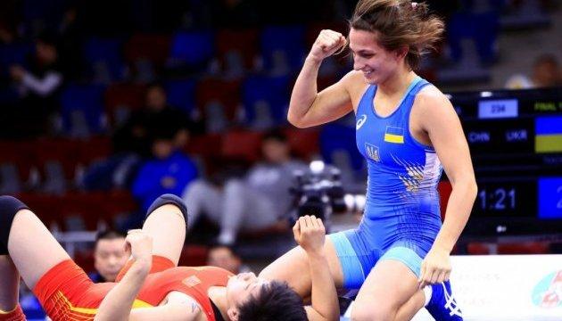 Юлия Ткач стала серебряным призером чемпионата мира по вольной борьбе
