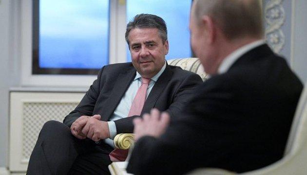 У Німеччині вимагають пояснень від глави МЗС щодо вечері з Путіним