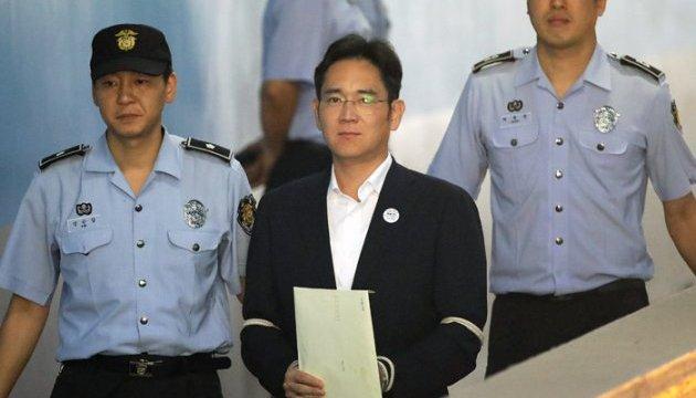 Віце-президента Samsung посадили на п'ять років за хабарі