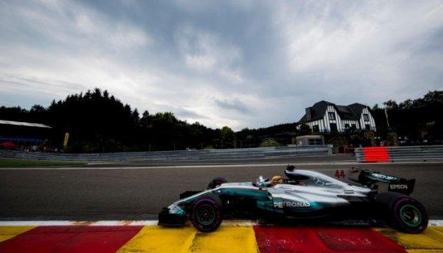 Формула-1: Хемілтон виграв кваліфікацію Гран-прі Бельгії