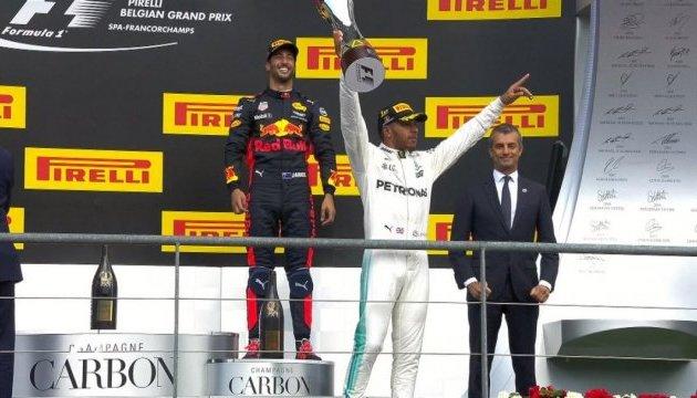 Формула-1: Хемілтон переміг на Гран-прі Бельгії