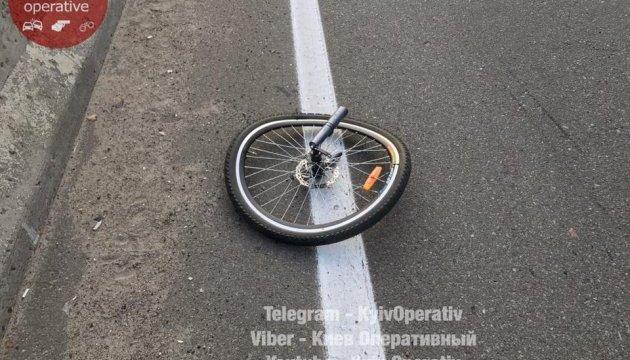 ДТП на Окружній: іномарка на смерть збила велосипедиста