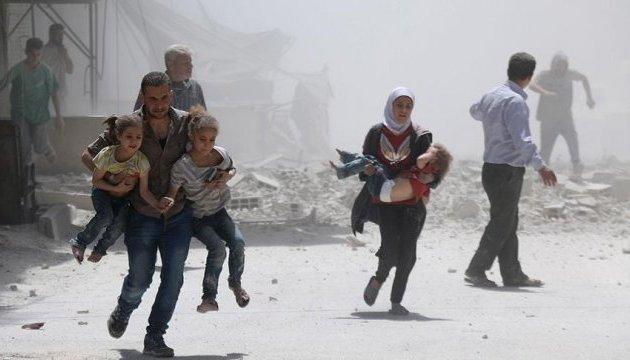Армія Асада обстріляла передмістя Дамаска, загинули діти
