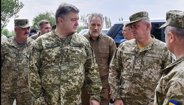 Avdiivka to get rid soon of dependence of gas supply from occupied territories – Poroshenko