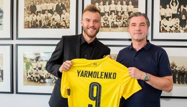 Dynamo-Spieler Yarmolenko wechselt zu Borussia Dortmund