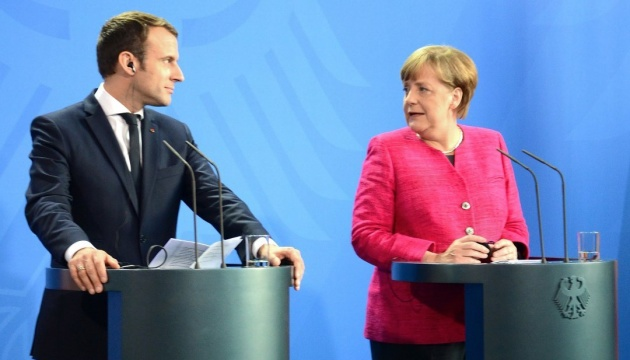 Merkel, Macron call on Ukraine, Russia to support ceasefire