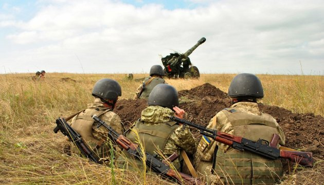 Militants launched 16 attacks on Ukrainian troops in Donbas in last day